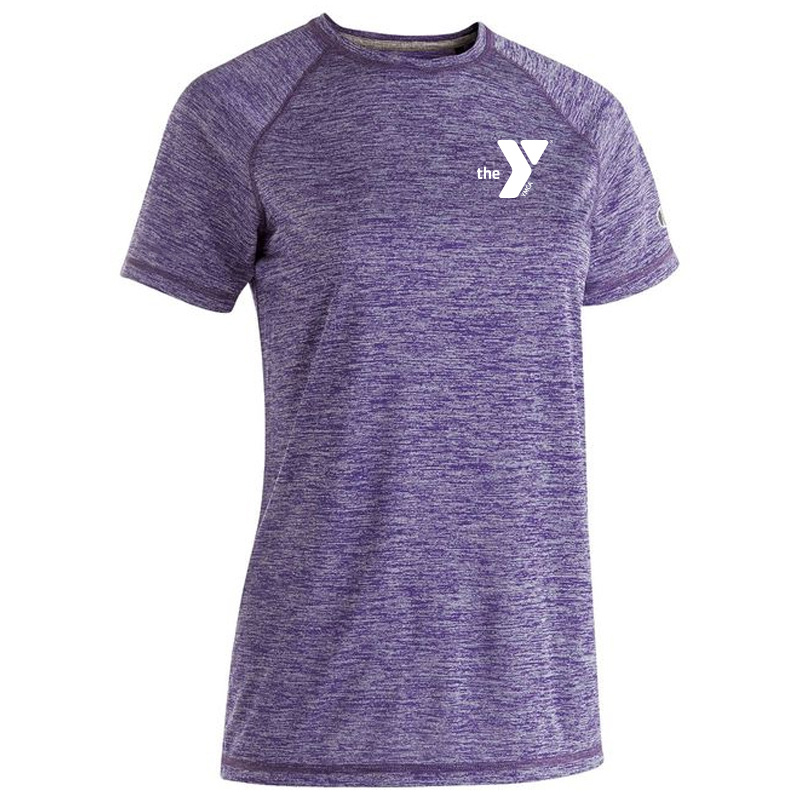 Y Ladies Electrify 2.0 Short Sleeve Shirt - Purple