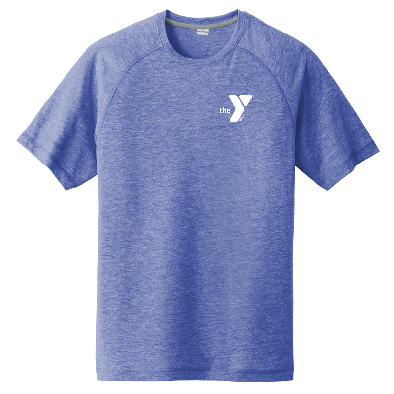 Y Men's Sonic Heather Performance T-Shirt - Athheather