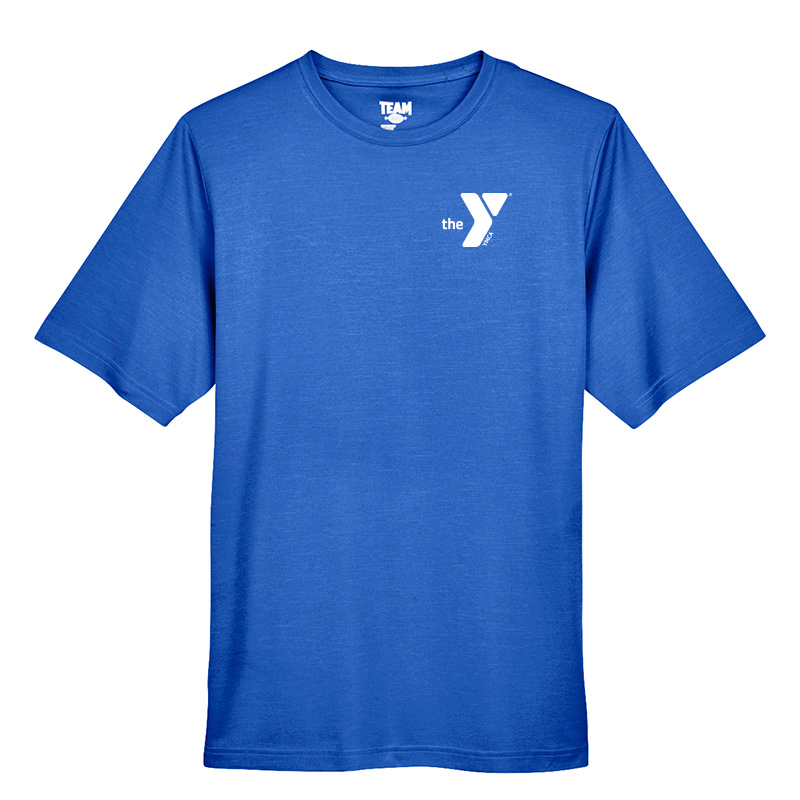 Y Men's Sonic Heather Performance T-Shirt - Royal