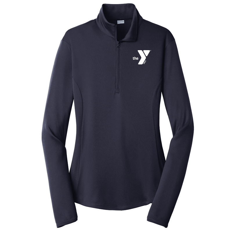 Y Ladies  Competitor 1/4-Zip Pullover - Navy