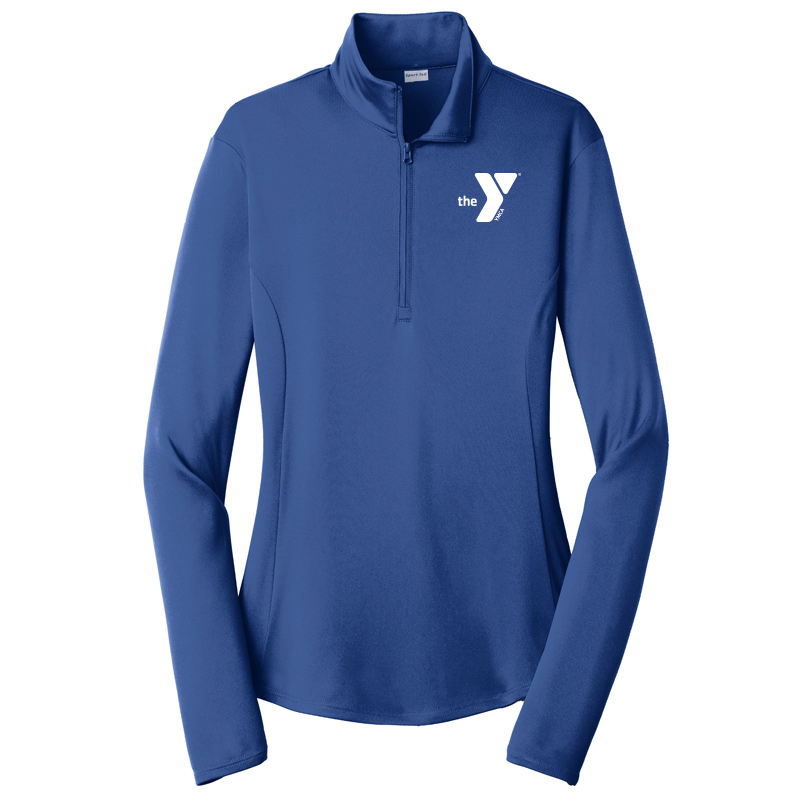 Y Ladies  Competitor 1/4-Zip Pullover - Royal