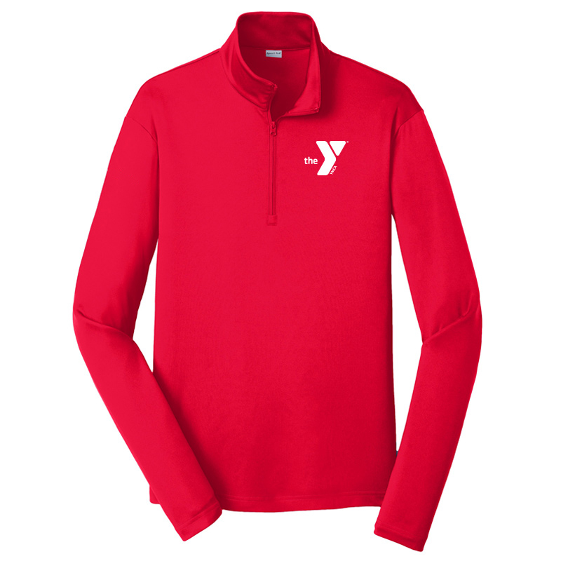 Y Competitor 1/4-Zip Pullover - Red