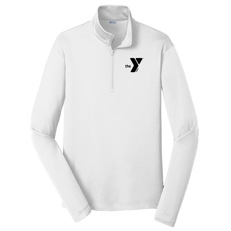 Y Competitor 1/4-Zip Pullover - White